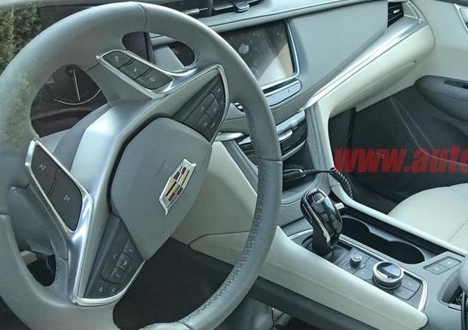 凯迪拉克全新XT5谍照 内饰升级/增V6车型