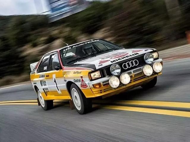 WRC上的所向披靡,为转向民用奠定了基础