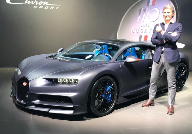 2019日内瓦车展 布加迪Chiron特别版首发