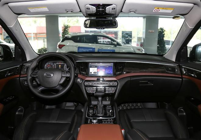 广汽传祺GS8新车型申报图 将三季度上市