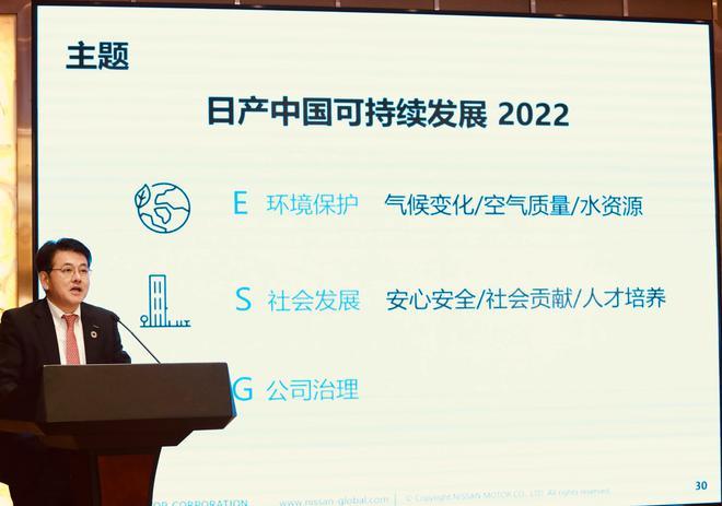 涵盖环境保护、社会发展、公司治理 日产中国发布可持续发展规划2022
