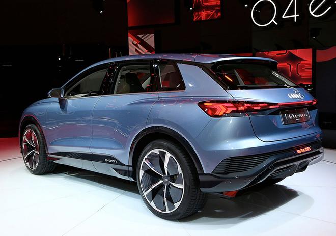 今年11月 奥迪Q4 e-tron将于上海安亭MEB工厂生产