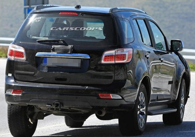 明年正式在华开售 雪佛兰全新SUV街拍曝光