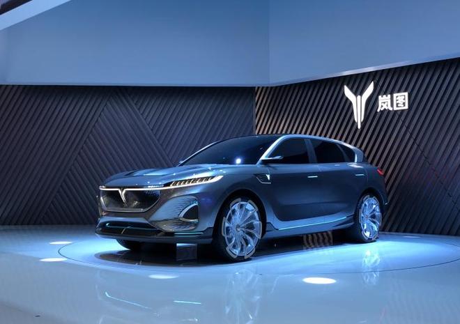 2020北京车展:一款比一款带劲儿 岚图两款概念车亮相
