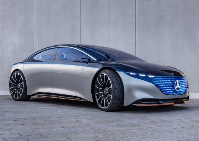 奔驰Vision EQS概念车