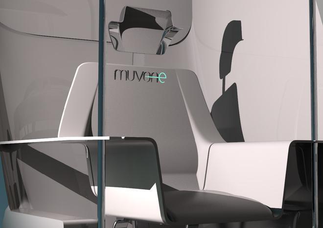Muvone自动驾驶出租车获福特新设计师大奖