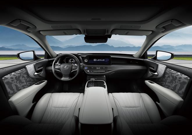 2020广州车展:细节调整配置升级,新款雷克萨斯LS上市