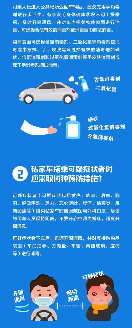 权威发布:汽车防控新型冠状病毒建议