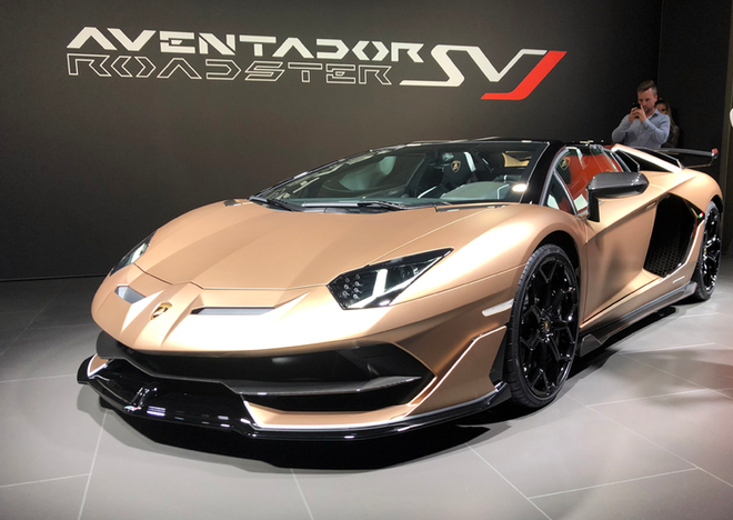 日内瓦车展 Aventador SVJ敞篷版亮相
