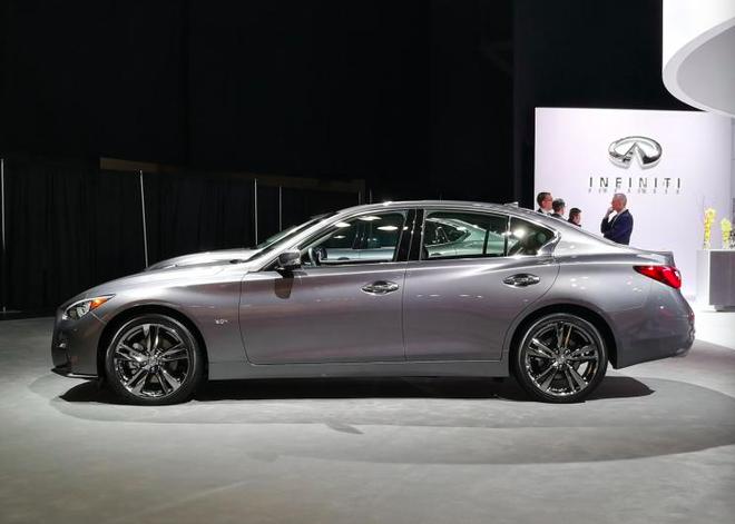 2019纽约车展:英菲尼迪Q50 Signature
