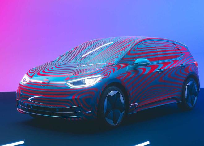 首发特别版续航420公里 大众纯电动车型ID.3官图发布