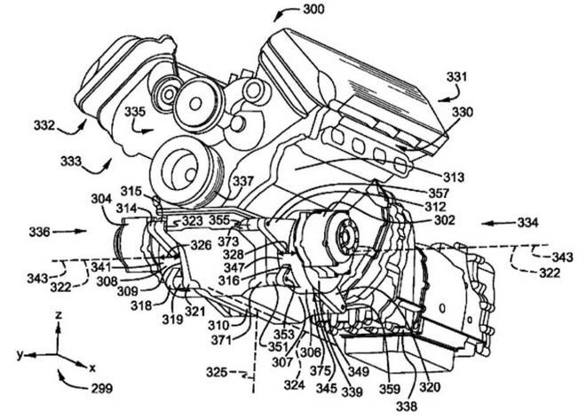 福特全新动力总成的专利申报图