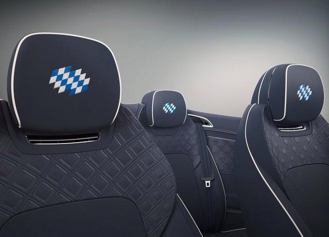 欧陆GT敞篷Bavaria版官图发布 致敬巴伐利亚