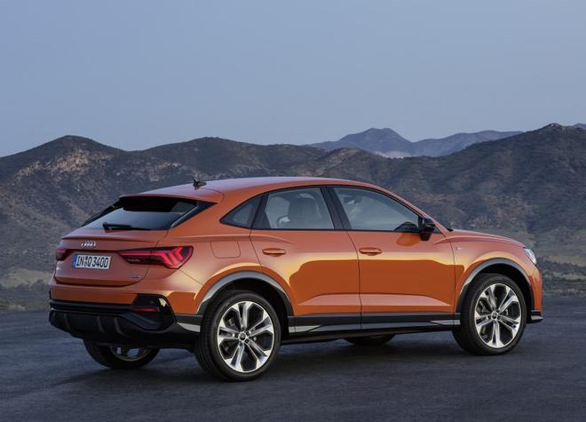 奥迪Q3 Sportback将国产 轿跑SUV造型