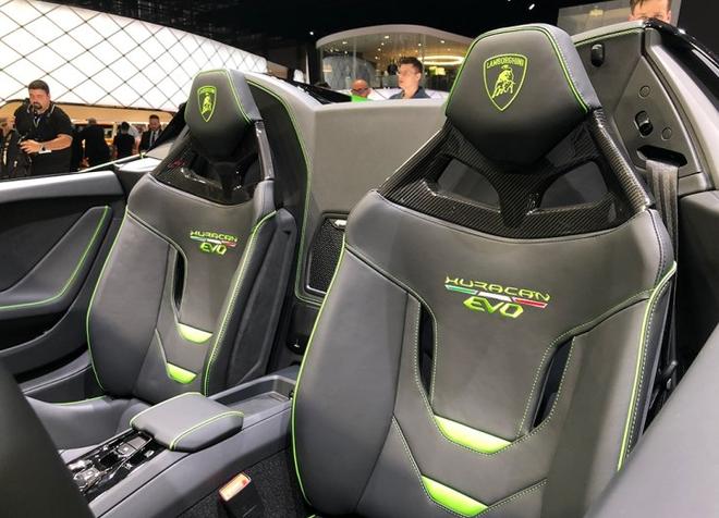 2019日内瓦车展:Huracán EVO Spyder