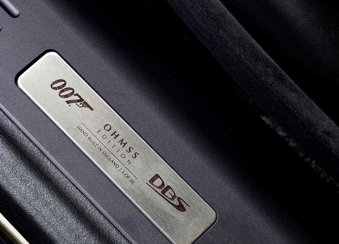 致敬007电影 阿斯顿·马丁DBS特别版官图发布