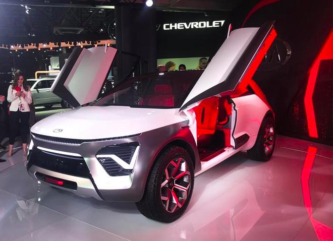 2019纽约车展:起亚Habaniro概念车发布