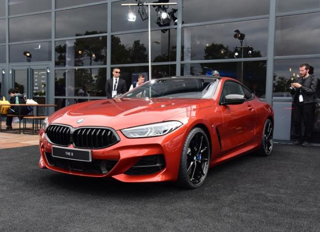 全新BMW 8系双门轿跑车