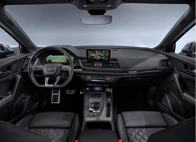 奥迪SQ5 TDI官图发布 搭载48V微混系统和柴油发动机