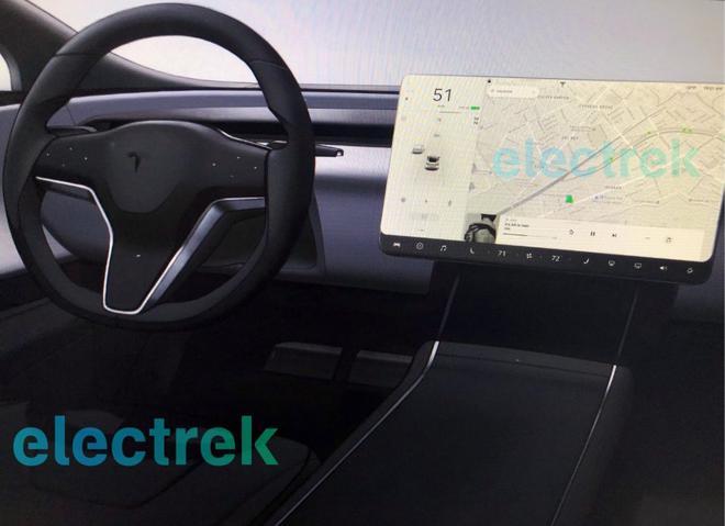 特斯拉Model S/X全新内饰设计假想图