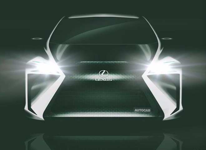 雷克萨斯纯电动概念车预告图 2019东京车展亮相