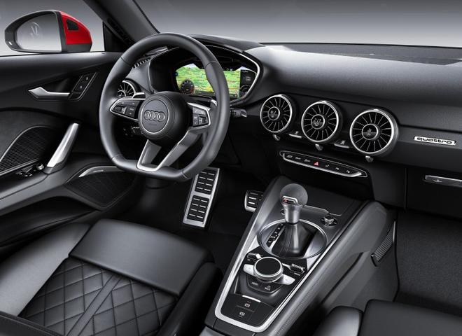 新款奥迪TT车型官图发布 预计巴黎车展亮相