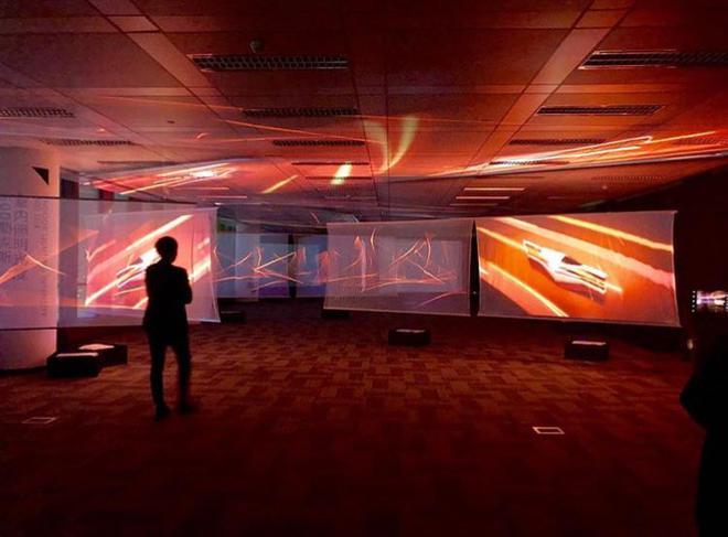 """日产中国设计中心""""上海2040""""未来出行设计体验"""