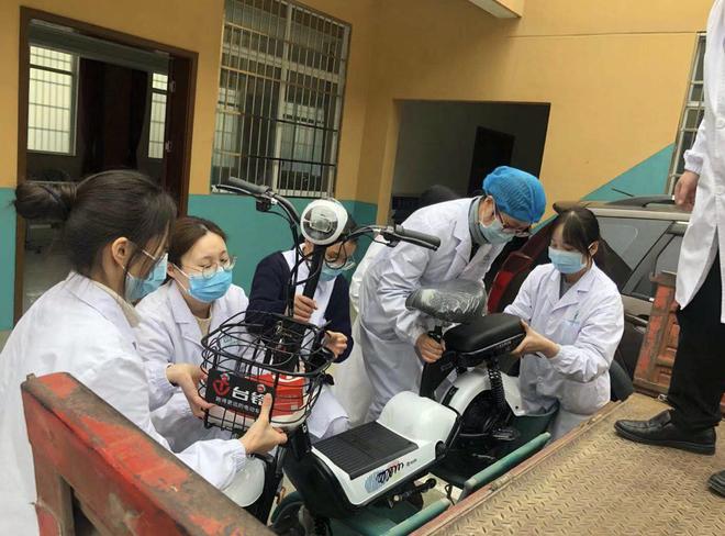台铃捐车千台 助力一线医护人员打赢抗疫攻坚战
