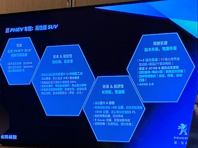 东风标致4008 PHEV参数曝光 纯电续航59km