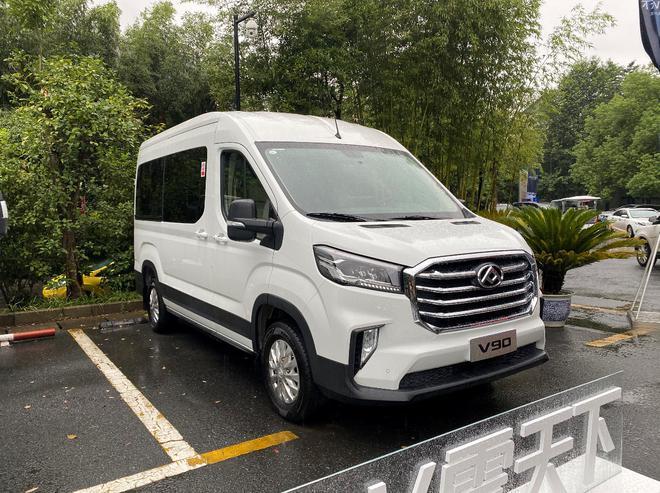 细分轻客市场 上汽大通MAXUS四款轻客上市 售价10.28万元起