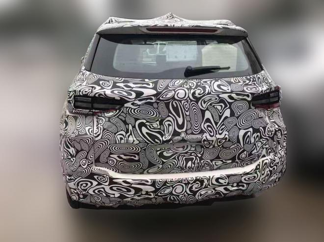 奇瑞新能源全新SUV谍照曝光 今年上市