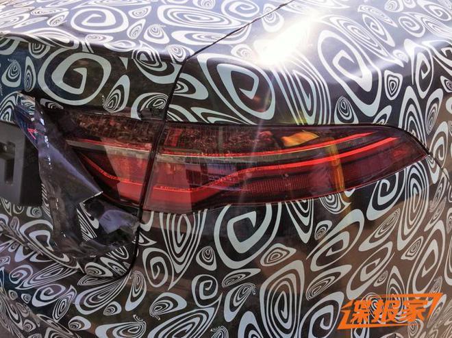 同步海外版设计 新款捷豹XEL谍照曝光