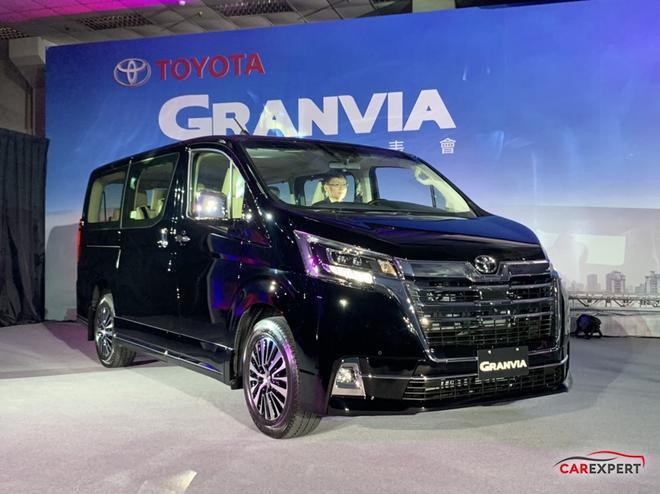 主打商务定位 丰田Granvia台湾地区首发