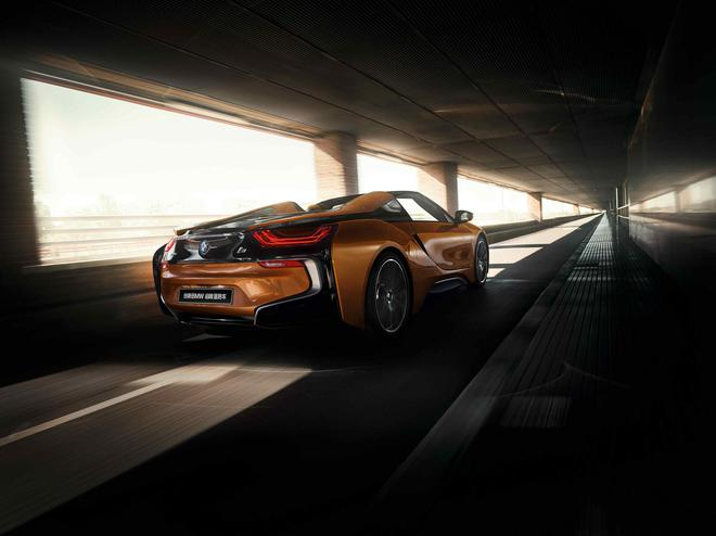 BMW i8推出极夜流星限量版 中国限量发售10台