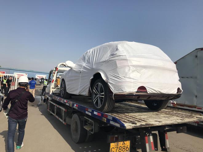 2018北京车展探馆 新奥迪Q5L曝光