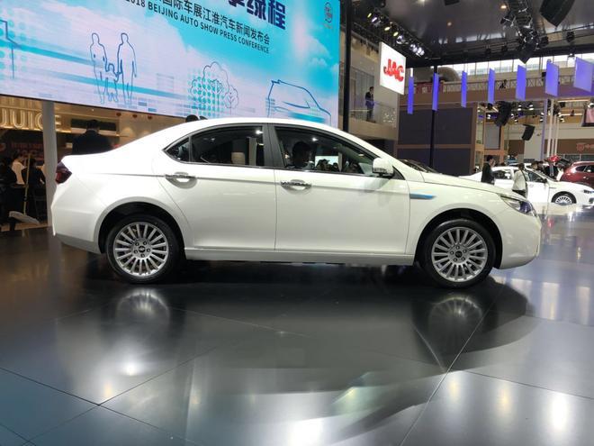 江淮iEVA50正式上市 售12.25-14.45万元