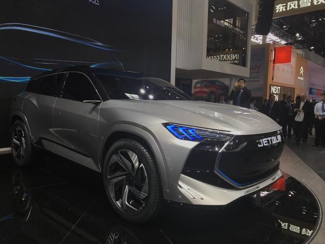 北京车展:捷途JETOUR X概念车首发