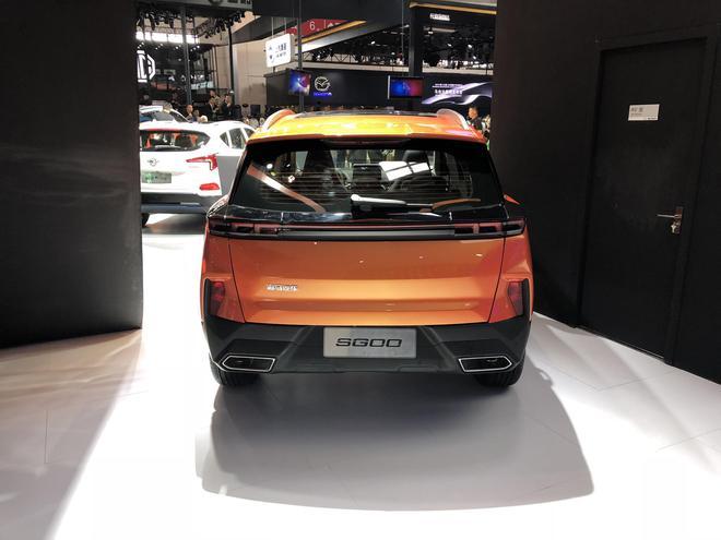 2018北京车展:海马新一代S5、SG00概念车