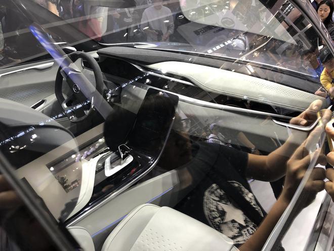 2018北京车展:上汽大通纯电动SUV概念车