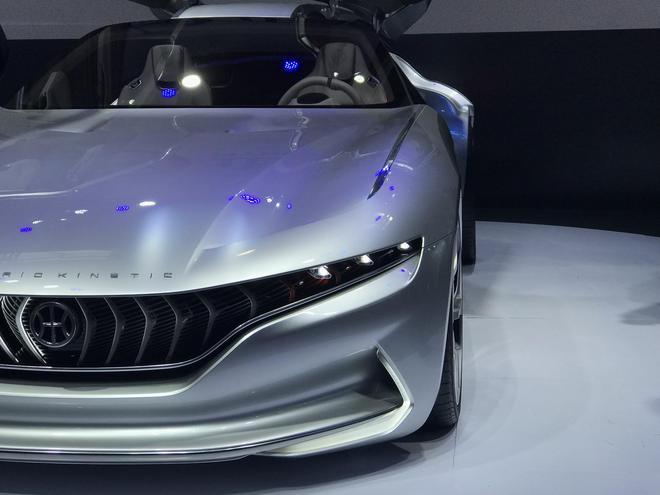 2018北京车展:正道携三款概念车亮相