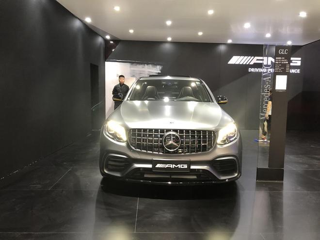 2018成都车展探馆 AMG GLC63 S COUPE亮相