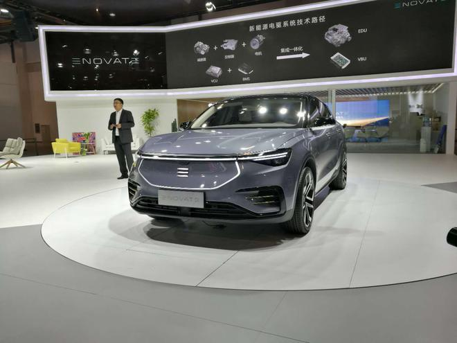 电咖汽车ENOVATA品牌高端SUV亮相 明年底交车