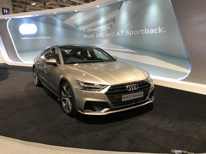 全新奥迪A7 Sportback亮相澳门车展