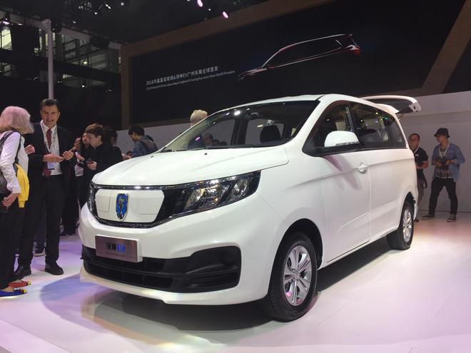 2018广州车展:华晨雷诺——领坤EV发布