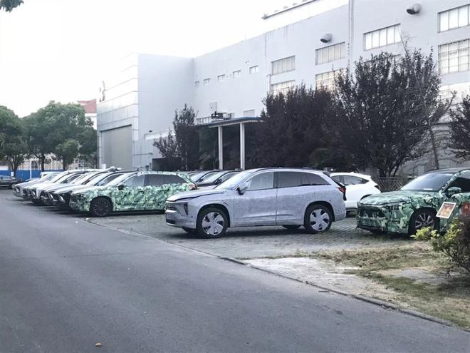 全新5座纯电动SUV 蔚来WS6实车近日曝光