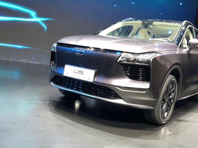 爱驰U5量产车正式亮相 基于MAS平台打造