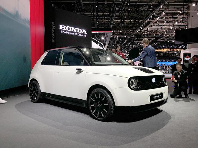 2019日内瓦车展:本田Honda e原型车亮相