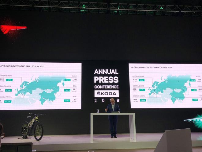 斯柯达2018年财报解读:全球销售营收增长4.4%  2019开启电动化战略