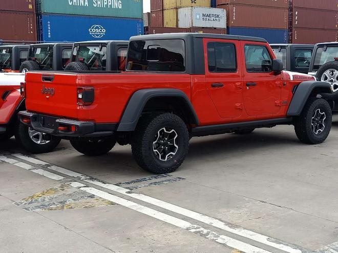Jeep Gladiator谍照曝光 上海车展亚洲首秀