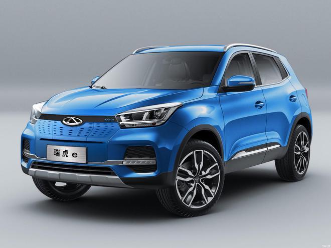 奇瑞新能源正式命名瑞虎e 上海车展发布